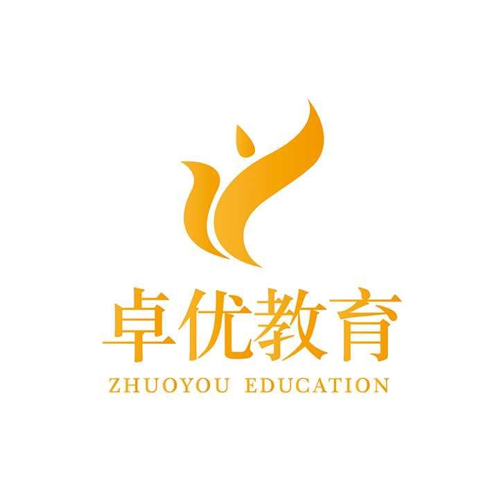 卓优教育logo,石家庄培训