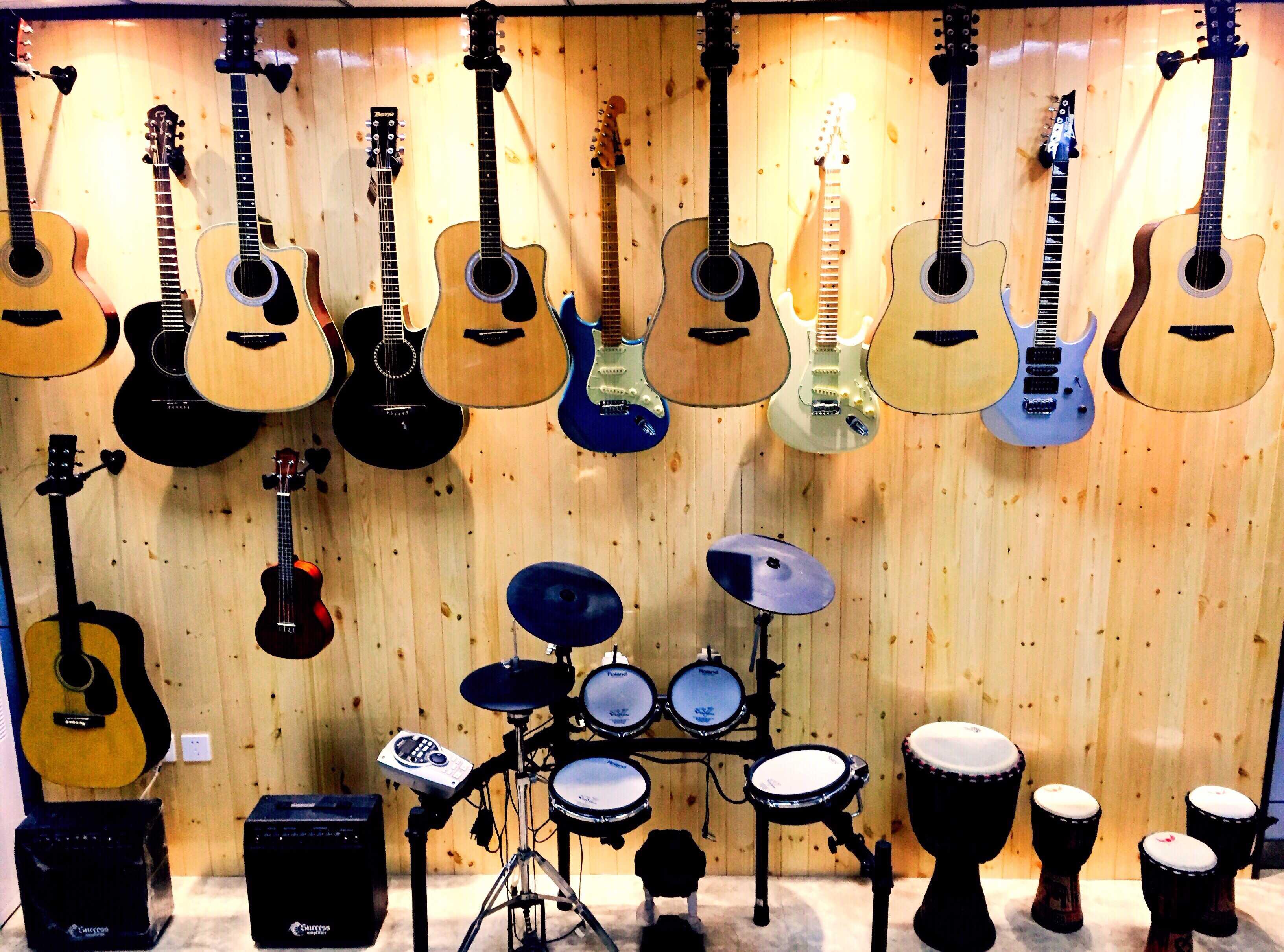 吉他课程场景