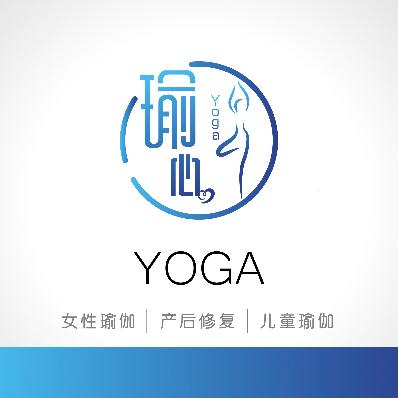 瑜心瑜伽logo