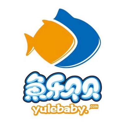 鱼乐贝贝婴儿游泳馆logo