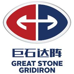 巨石达阵橄榄球学院logo