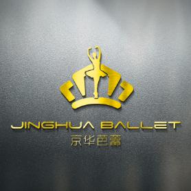 京华芭蕾舞学校logo